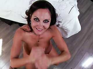Cougar Ava Titfucks And Deepthroats Prick For Big Facial Cumshot Cum-shot