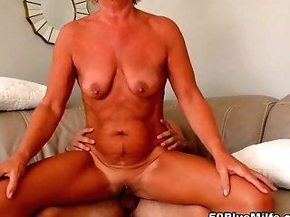 The Mummy And The Kid - Constance Joy And Ricky Spanish - 50plusmilfs
