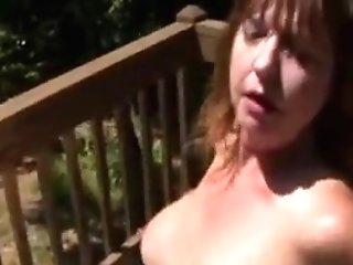 Fuck Matures Woman With A Black Man On Porch
