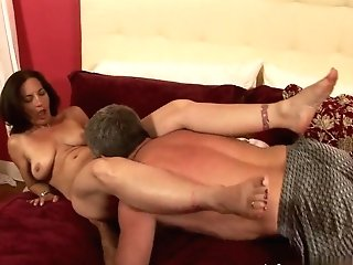 Amazing Superstar In Best Pussy Eating, Brown-haired Hook-up Flick