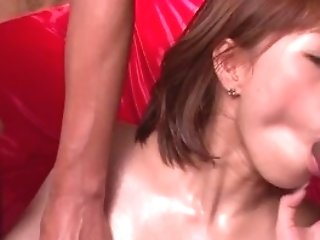 Tiara Ayase Loves Gagging With Shafts In Threesome Shows