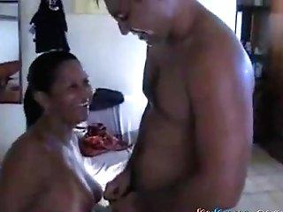 Hot Brazilian Wifey Fucked By Bull