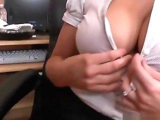 Bossy Breasts Stunner Holly Heart