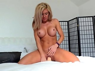 Exotic Pornographic Star In Horny Getting Off, Faux-cocks/playthings Pornography Scene
