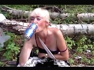 Matures Whore In The Forest