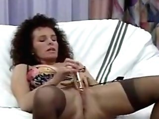 Horny Homemade Brown-haired, Stockings Porno Movie