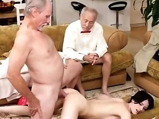 Old And Teenage Group Sex Internal Ejaculation Wolf She Concludes Up Pulverizing Both Of Our