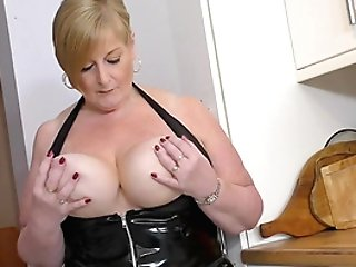 Matures Bbw Sizzles In A Sexy Black Spandex Sundress