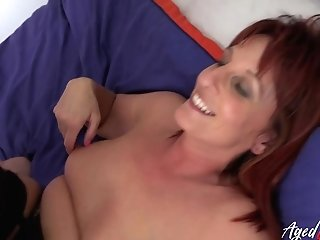 Agedlove Hot Matures Tempts Horny Youngster