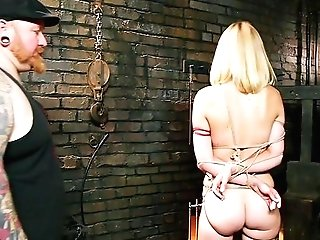 Daunting Marionette Training Session For Obedient Mona Wales