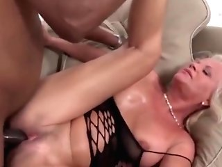 Milky Matures Has Numerous Orgasms During Intercourse With A Black Man
