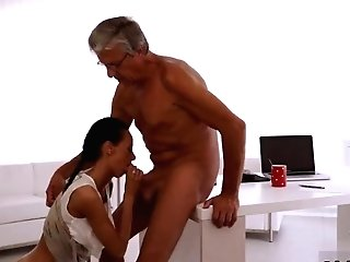 Teacher Fucks Petite Crony' Companion's Daughter-in-law Very First Time Eventually She's