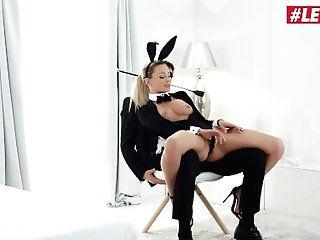 'whiteboxxx - Hot Easter Bunny Hoe Isabelle Deltore Non-traditional Electro-hitachi Onanism For Her Beau - Letsdoeit'