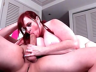 Chubby Matures Throats It Before Attempting Rough Fuckfest
