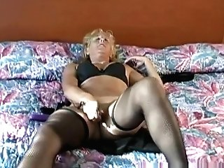Finest Adult Movie Star Bridgette Paige In Exotic Undergarments, Blonde Hook-up Movie