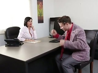 Fuck-a-thon-greedy Lady Chief Veronica Avluv Is Checking Out Abilities Of One Fresh Employee