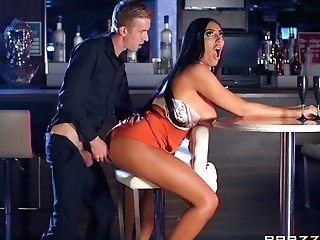 Ava Koxxx Gargles And Rails Boner At The Pub
