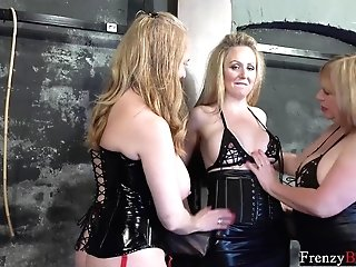Madness Domination & Submission Three Horny Lesbos And Tying