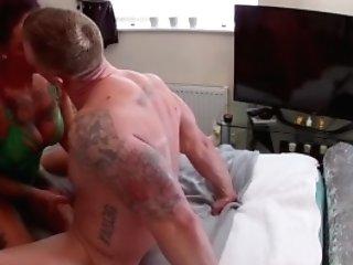 Ball Tonguing Mummy Natalie Lea Rails Big Fat Dick Gonzo