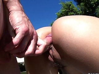 Curvy Wifey Screams With Unending Dick Ramming Her
