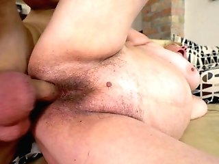 Matures With Gigantic Breasts Sates Her Sexual Needs And Desires With Boy's Sturdy Meat Stick In Her Fuck Fuck Hole