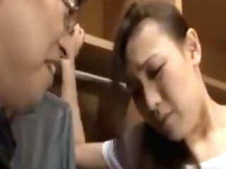 Asian Mummy Honey Getting Honeypot Finger-tickled And Loves It