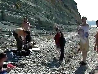 Peep Freak Movie Of Nude Public Beach