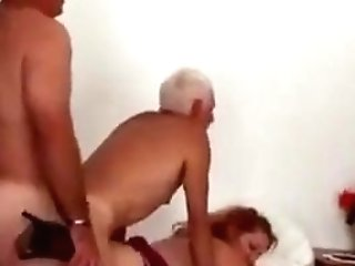 Bisex Matures Duo And Friend