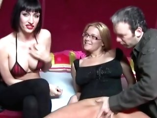 Dutch Mom Trains Nerdy Daughter-in-law Hook-up