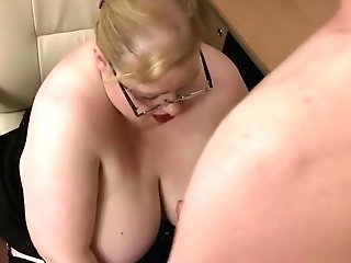 Lustful Matures Bbw Can't Stop Deep-throating And Fucking A Lengthy Shaft