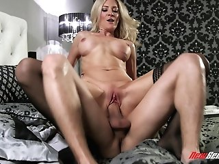 Blake Morgan Is A Dolled Up Honey Who Wants To Sense A Stud's Member