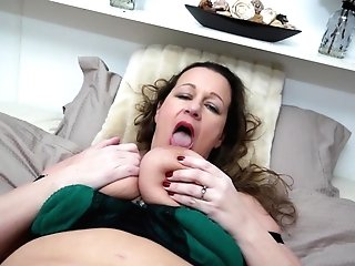Eva Jayne Likes Masturbating With A Tool More Than Anything