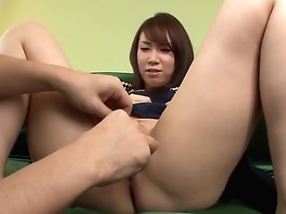 Sakura Ooba Stands Nude And Plays - More At Slurpjp.com
