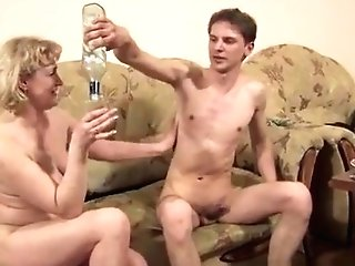 Skinny Blonde Mega-bitch Has Doggystyle Anal Intercourse