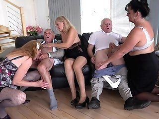 Wild Group Hump With Matures Cocksluts Daphne Klyde And Nicole Love