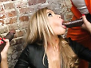 Arrested Black Dudes Fuck Mischievous Ultra-cutie Subil Arch And Jizz In Her Gash