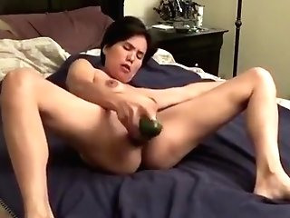 Cucumber Inwards Snatch And Fuck