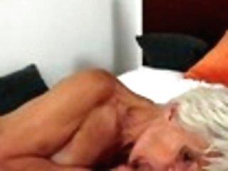 Youthful Stud Fucks Hairy Granny Viviana