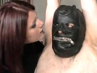 Crazy Homemade Ginger-haired, Domination & Submission Adult Clip
