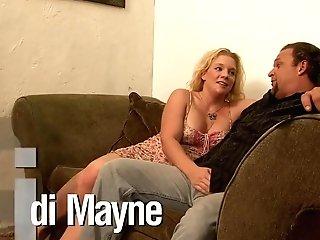 Horny Pornographic Star Heidi Mayne In Finest Gang-bang, Facial Cumshot Pornography Scene