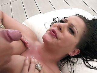 Supah Buxomy Mummy With Pierced Nips Anissa Jolie Gets Her Honeypot Rear End Fucked