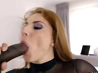 Curvy Cougar Interracially Plowed Doggystyle