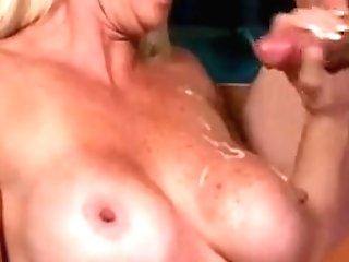 Lengthy Towheaded Matures Wifey Rear Fucked
