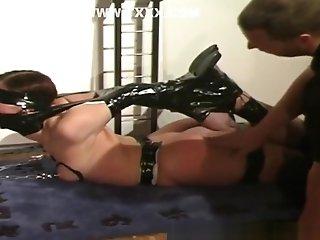 Horny Bottom Gets Downright Bonded By Master