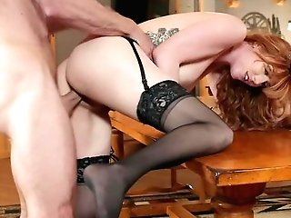 Hot Big-boobed Cougar Shows No Grace To The Big Dick