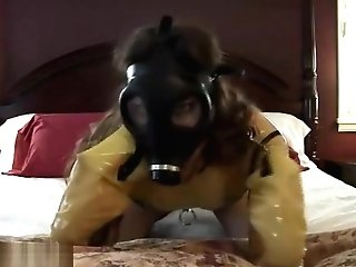 Gasmask Orgasms Massager Spandex Alterpic