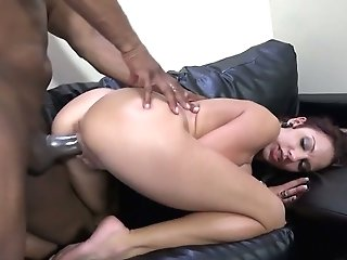 Utter Natural Bosomy Hooker Lilith Lavey Gets Her Mouth And Twat Blacked