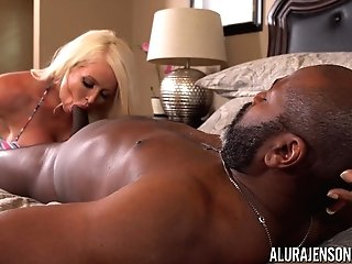 Alura Jenson Pounded By A Black Knob