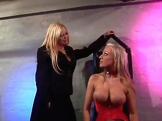 Blonde Mistresses Use Fuckfest Submissive Man For Their Fuck Games