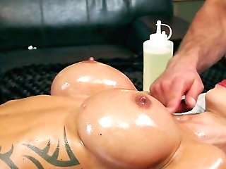 Jewels Jade Toughly Banged By Two Horny Masculines